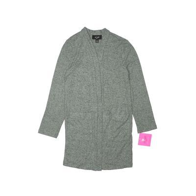I.N. Girl Cardigan Sweater: Green Tops - Size 8