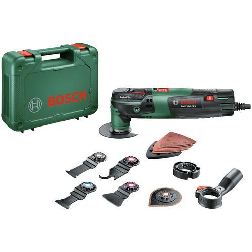 Bosch Powertools Elektro-Multifunktionswerkzeug PMF 250 CES, W grün Multifunktionswerkzeug Werkzeug Maschinen