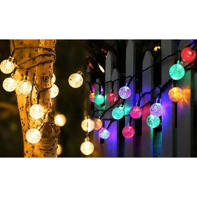 Guirlande lumineuse avec 20 ampoules : Multicolore / 1