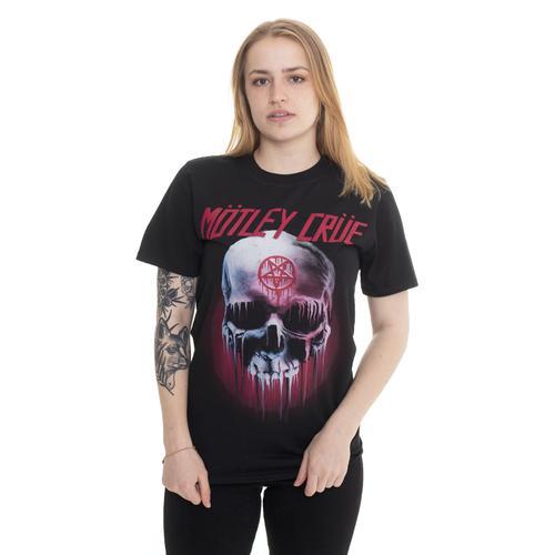 Mötley Crüe - Halloween Skull - T- - T-Shirts