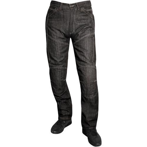 roleff Motorradhose, Jeans schwarz Schutzbekleidung Zubehör Motorroller Mofas Motorradhose