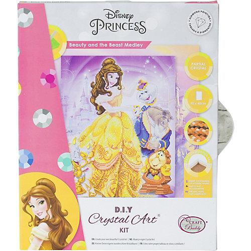 Crystal Art Disney Beauty and the Beast Medley, 40 x 50 cm Kristallkunst-Kit
