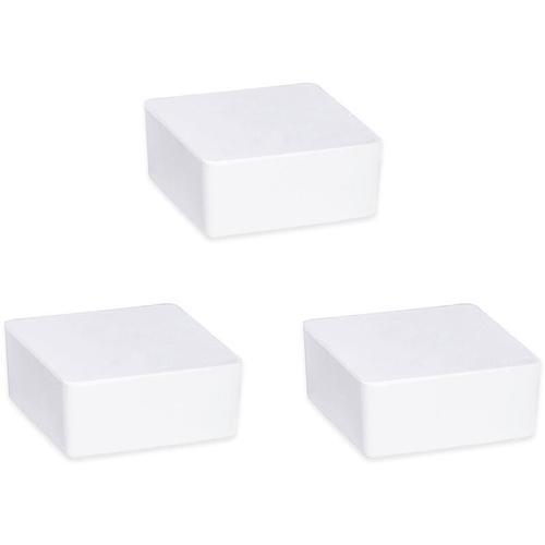 Wenko Raumentfeuchter Cube Nachfüller 1000 g, 3er Set - Weiß