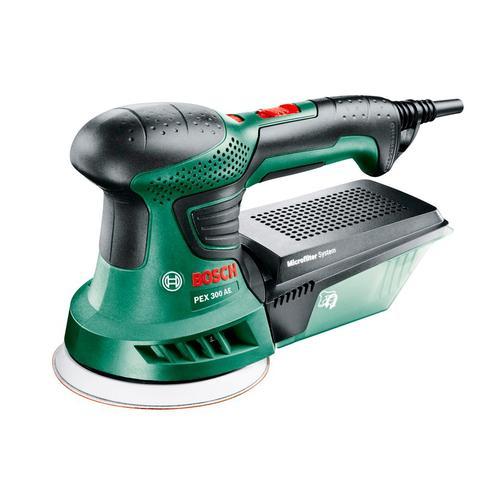BOSCH Exzenterschleifer PEX 300 AE grün Schleifer Werkzeug Maschinen