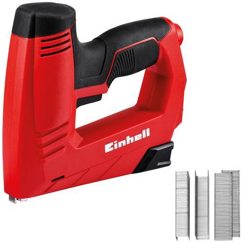 Einhell Elektro-Tacker TC-EN 20 E rot Tacker Werkzeug Maschinen