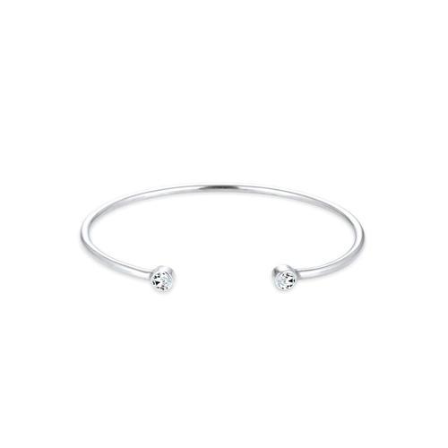 Armband Armreif Trend Kristalle 925 Silber Elli Silber