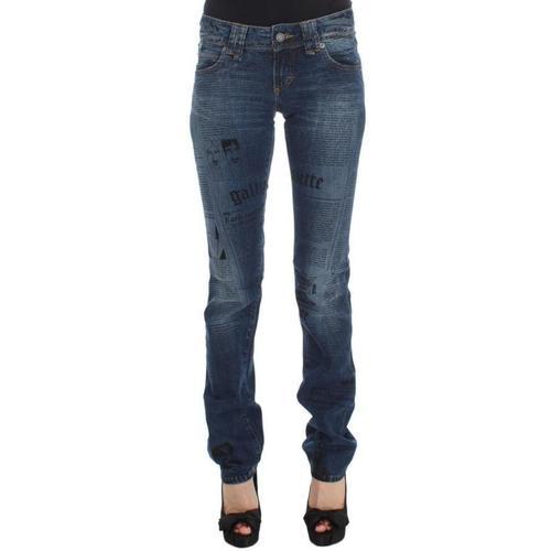 John Galliano Slim Fit Bootcut Jeans
