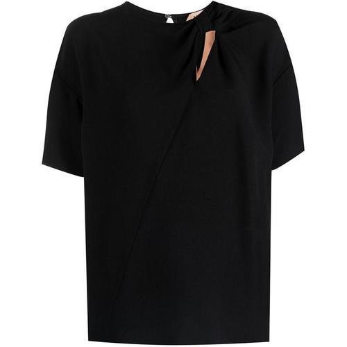 N°21 Bluse mit Schleifen