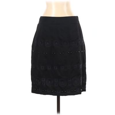 DKNY Casual Skirt: Black Solid Bottoms - Size 4