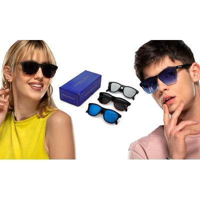 Lot de 3 paires de lunettes de soleil Herling Spectrum : Spectrum 1