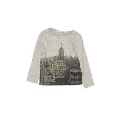 H&M Long Sleeve T-Shirt: Gray To...