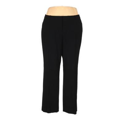 Lane Bryant Dress Pants - High Rise: Black Bottoms - Size 20 Plus