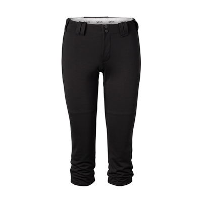 Soffe Intensity N5306W Athletic Women's Home Run Pant in Black size XL | Polyester