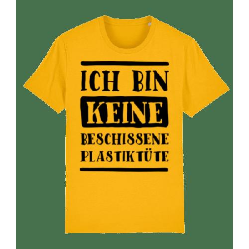 Ich Bin Keine Beschissene Plastiktüte - Männer Premium Bio T-Shirt Stanley Stella