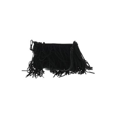 Rebecca Minkoff - Rebecca Minkoff Leather Crossbody Bag: Black Solid Bags