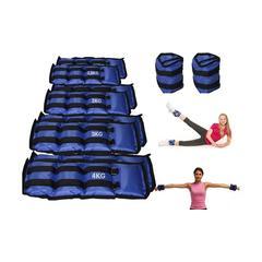 Paire de poids de fitness pour chevilles ou poignets : 1 5 kg