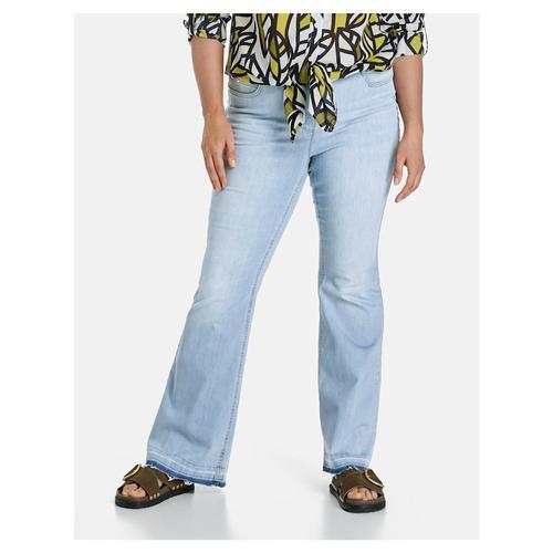 Betty Jeans mit Bootcut Samoon Light Blue Denim
