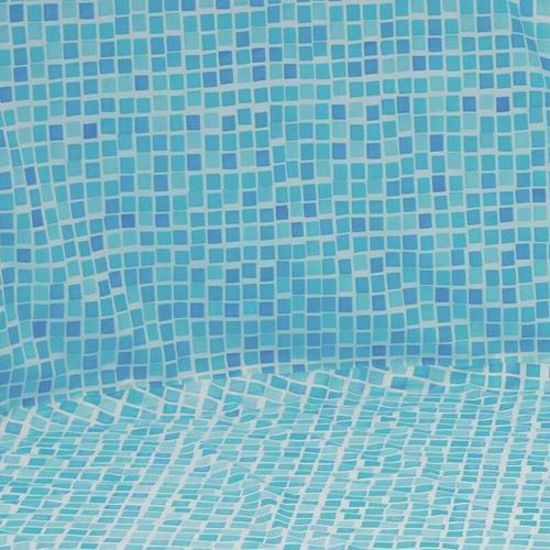Pool Folie rund ø 3,60m x 1,10m Folie 0,3mm Überlappung mosaic Pool Poolfolie Rundpool / 360 x 110