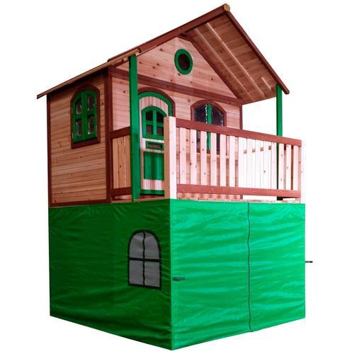 AXI Spielturmverkleidung, für Spielturm Marc, Liam, Simba und Atka grün Kinder Outdoor-Spielzeug Spielturmverkleidung