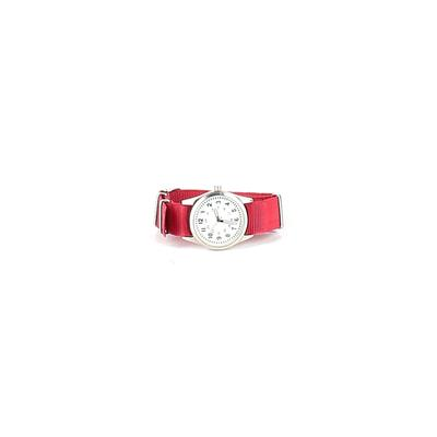 Watch: Red Solid Accessories