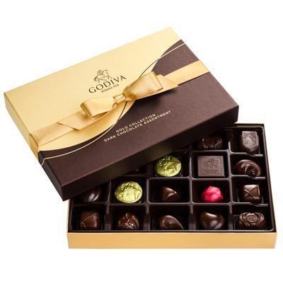 Godiva Dark Chocolate Assortment, 22pc