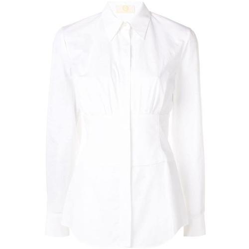 Sara Battaglia Tailliertes Hemd