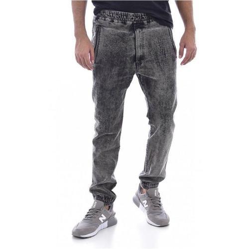 DIESEL Pantalon streetwear effet usé