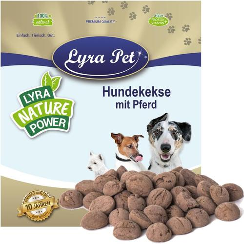 2 x 250 g Lyra Pet® Hundekekse mit Pferd