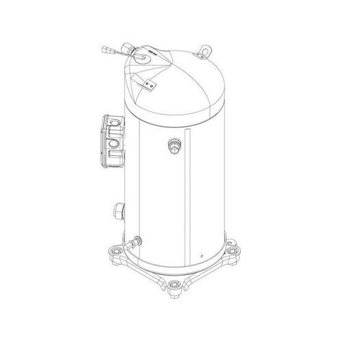 Bosch - JUNKERS Ersatzteil TTNR: 8738206726 Kompressor ZHIT 40 K1P Copeland