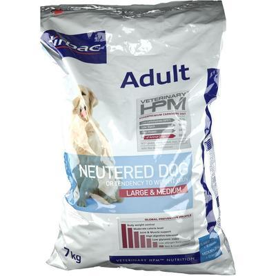 Virbac VETERINARY HPM® Adult Neutered Croquettes chien stérilisé adulte Large & Medium g alimentation pour animal