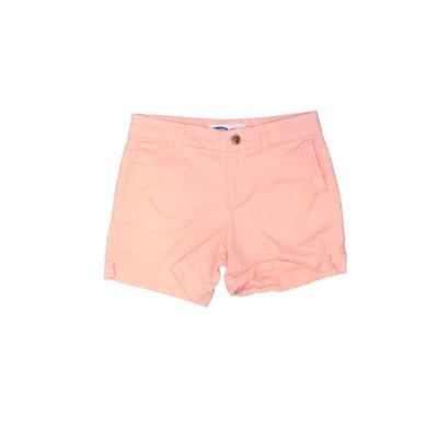 Old Navy Khaki Shorts: Pink Soli...
