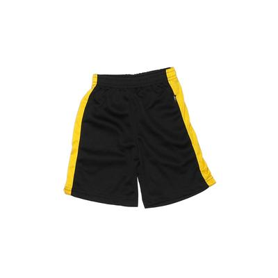 Marvel Athletic Shorts: Black Solid Sporting & Activewear - Size 4