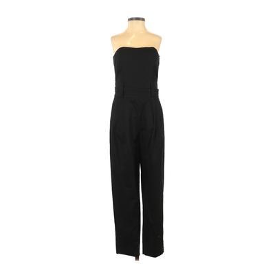 French Connection Jumpsuit: Black Solid Jumpsuits - Size 8