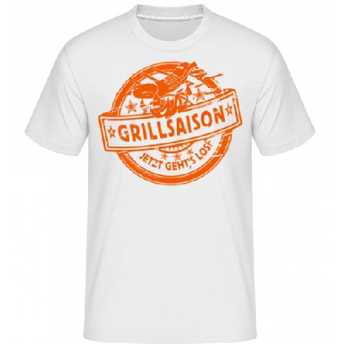 Grillsaison Logo - Shirtinator Männer T-Shirt