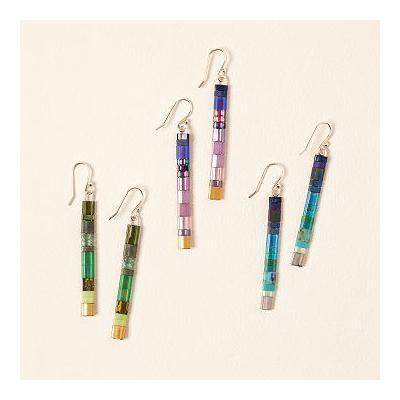 Ombre Tila Bead Earrings