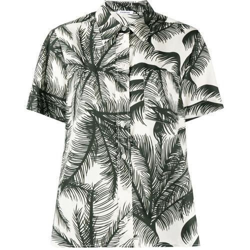 P.A.R.O.S.H. Hemd mit Palmenmotiv