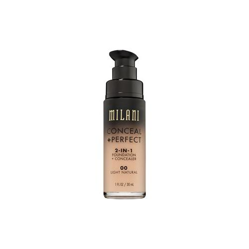Milani Teint Foundation Conceal & Perfect 2-in-1 Foundation & Concealer Nr.08 Light Tan 30 ml