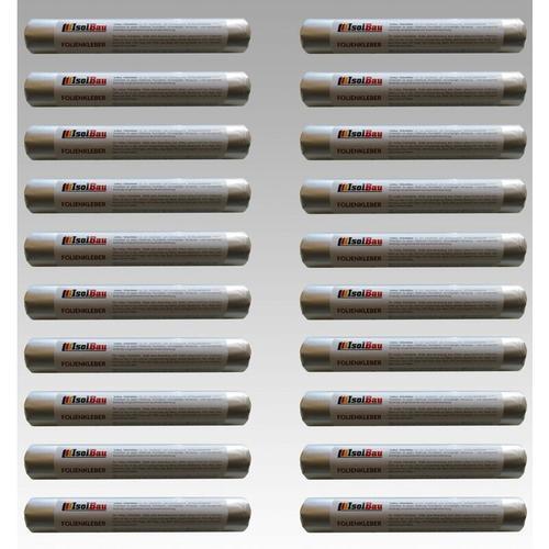 EPDM-Kleber Dichtkleber für Dampfbremse 20 x 600 ml Folienkleber Dampfsperre