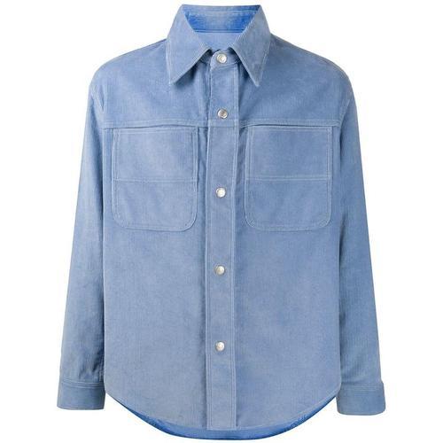AMI Hemd mit Druckknöpfen