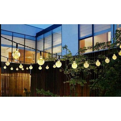Guirlandes solaires de 30 LEDs : x1