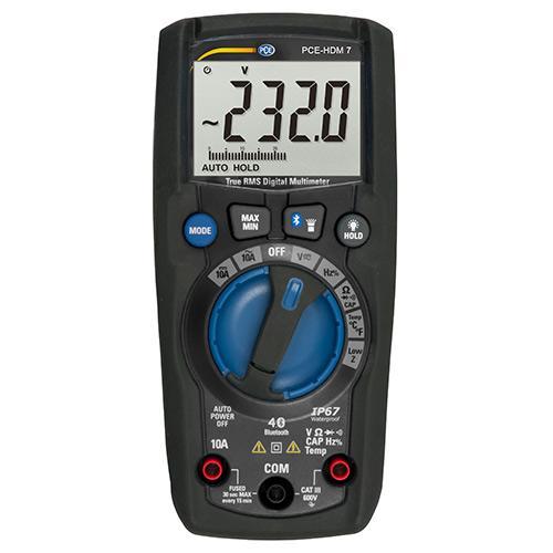 Digitalmultimeter PCE-HDM 7