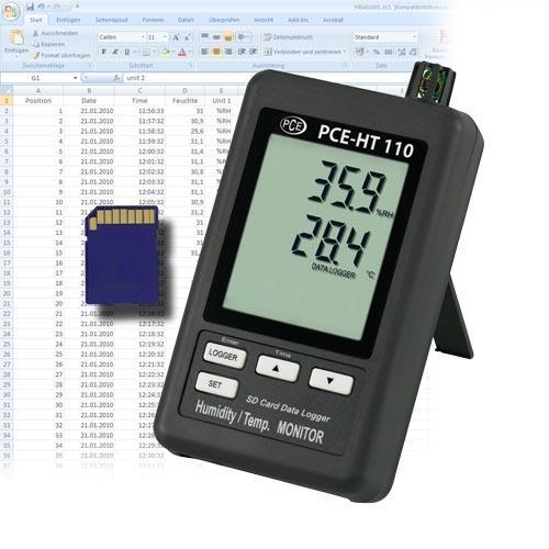 Hygrometer PCE-HT110