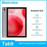 Blackview – tablette PC Tab 9 Android 10 de 10.1 pouces, 4 go + 64 go, UMS512 Octa Core, 1.8GHz,