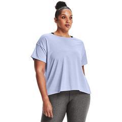 Plus Size Under Armour Tech Vent Tee, Women's, Size: 2XL, Brt Blue