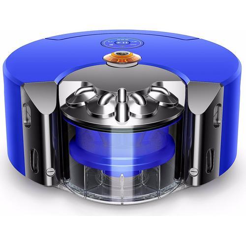 Dyson 360 Heurist, Staubsauger Roboter, Blau, Grau