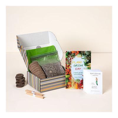 Vegetable Grow Kit & Garden Cookbook