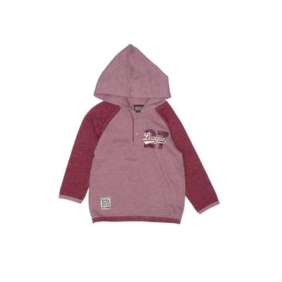 Z Boys Wear Pullover Hoodie: Red Tops - Size 4Toddler