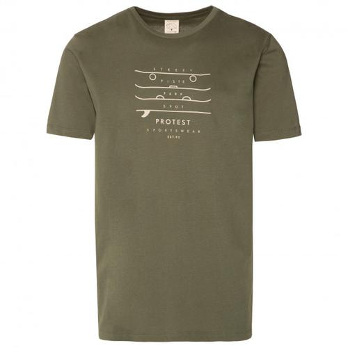 Protest - Harwell - T-Shirt Gr S oliv