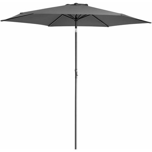 Sonnenschirm Alu Ø300cm Gartenschirm Marktschirm Schirm Kurbelschirm Ampelschirm wasserabweisend
