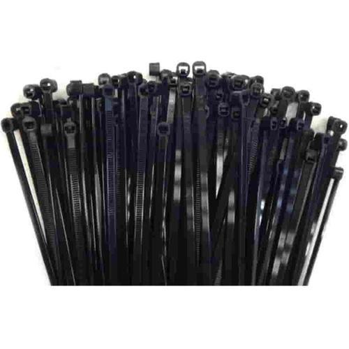100 Kabelbinder 200x3,6mm schwarz (UV-stabilisiert) PA6.6
